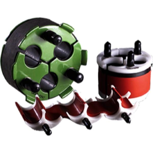 Triplex duct plug power link transmission
